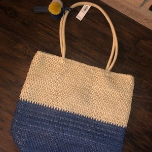 Old navy straw bag
